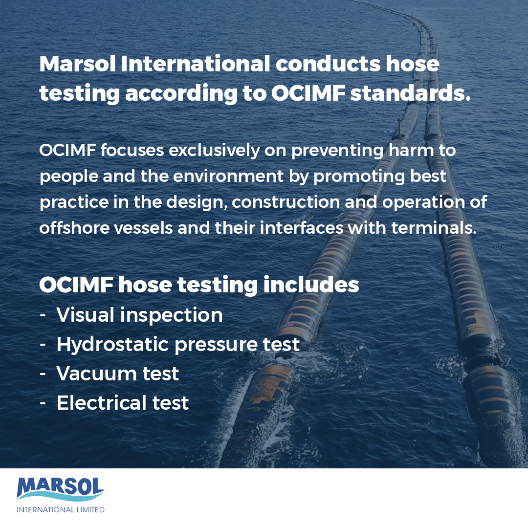 What is OCIMF Hose testing