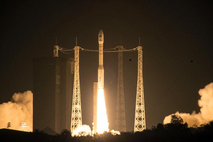 Запуск РН Vega с украинскими двигателями в сотрудничестве с ЕКА. Фото: ЕКА