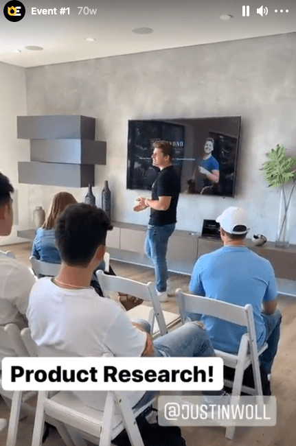 underground earners ecommerce 2019 event in Los Angeles where Justin Woll is a main event