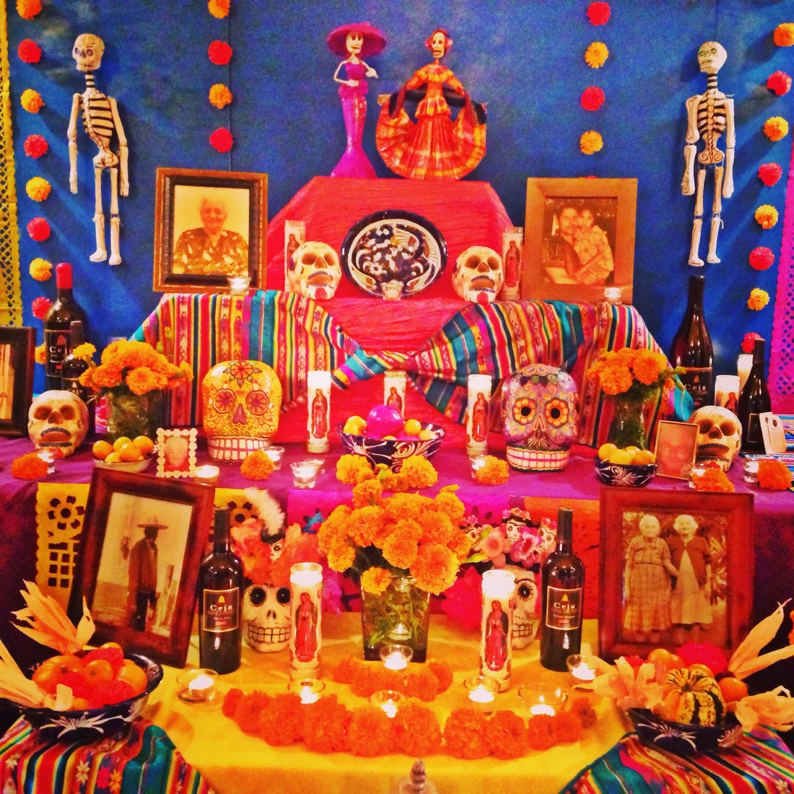 Image result for dia de los muertos altar