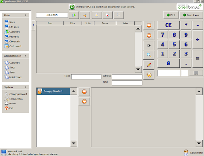 Open source retail pos software