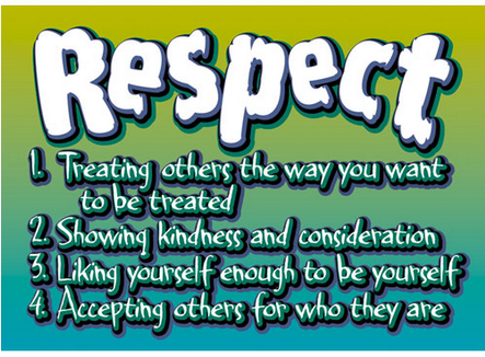 respect tell me what it means to me