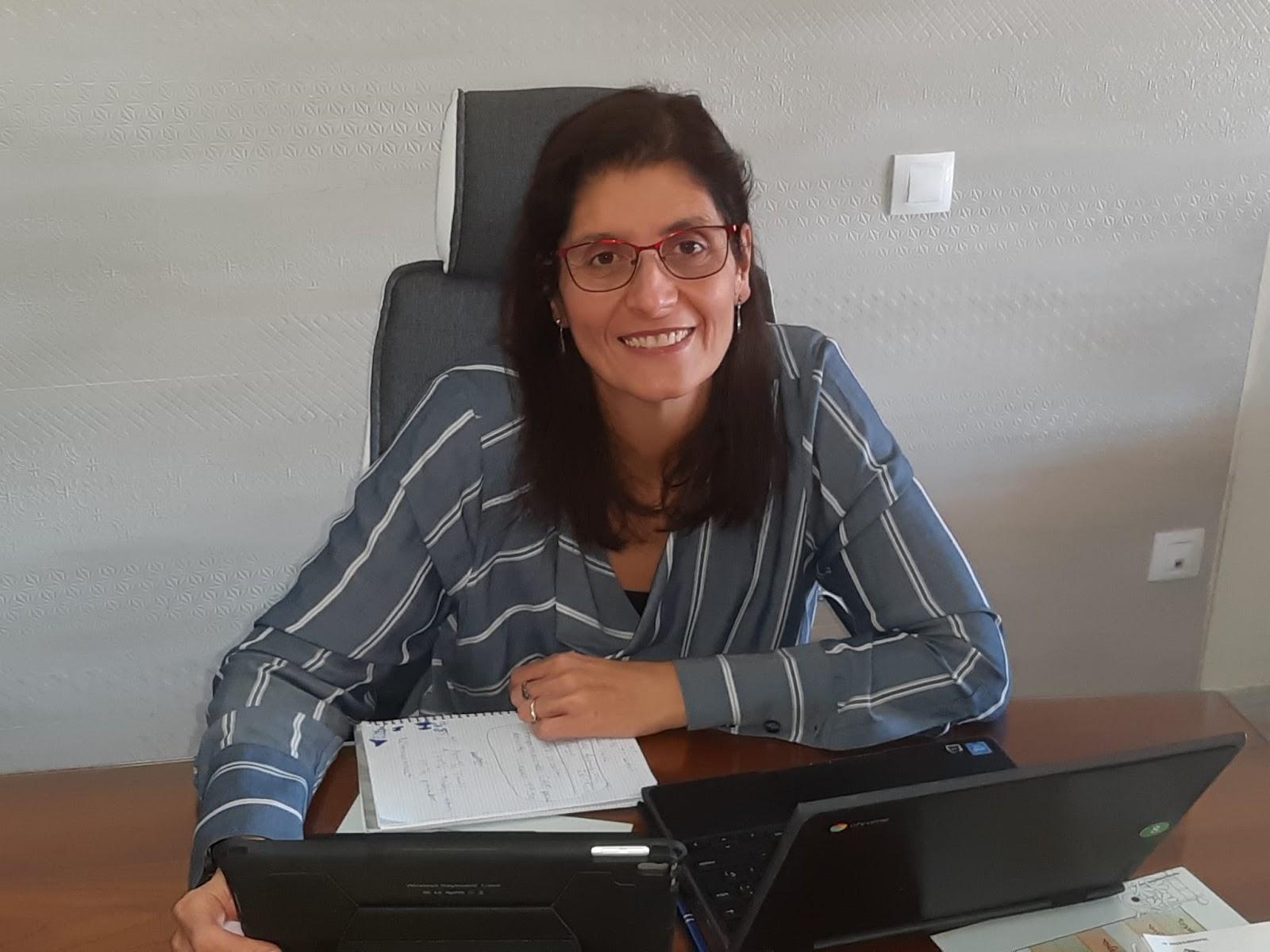 Mª Ángeles Porcel profesora de Las Chapas-Ecos