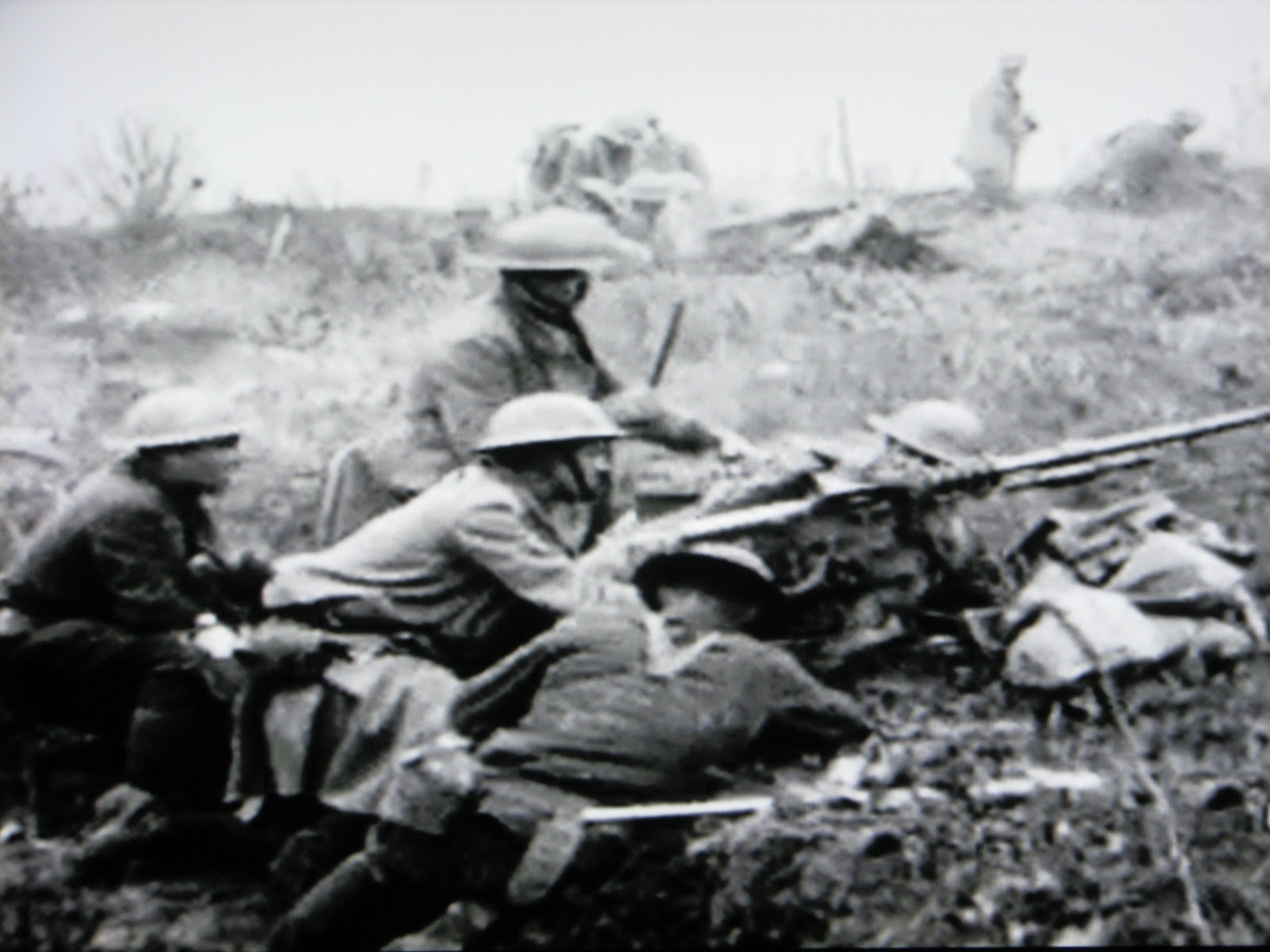 U.S. Machine Gun in France WWI.JPG