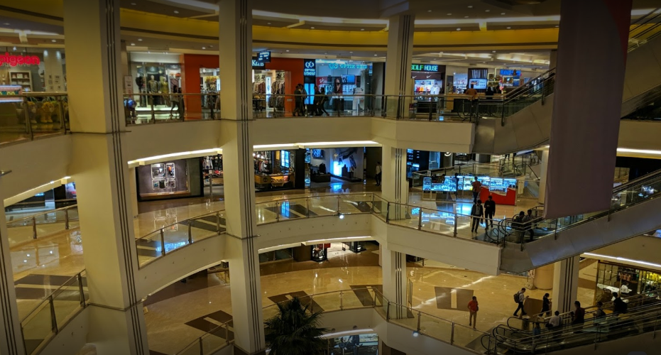 Pacific Place Mall view