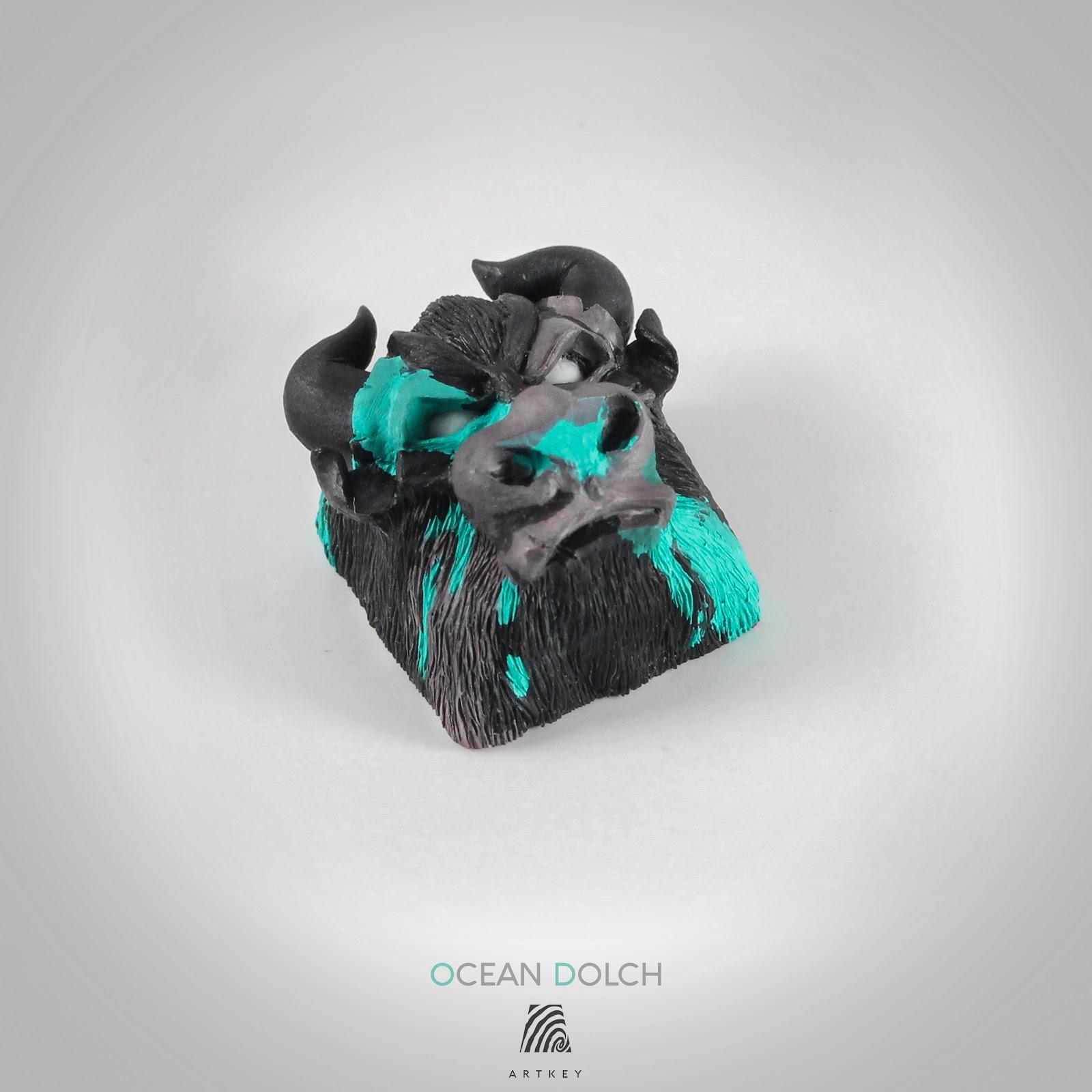 Artkey - Ocean Dolch Bull