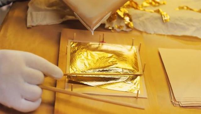 Dát vàng giúp sản phẩm nâng cao giá trị hơn