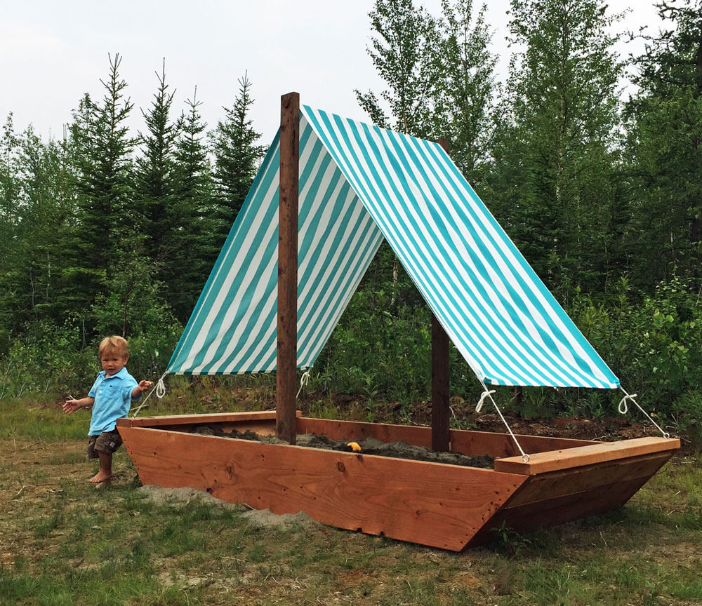 Set Up a Play Tent