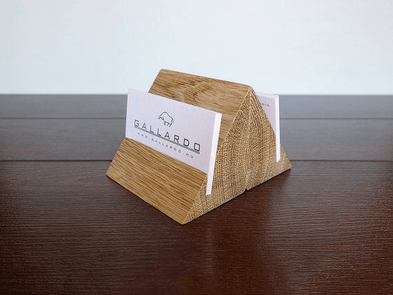 Business Card Holder: These 50 Woodworking Projects That Sell Online will help you make some money.
