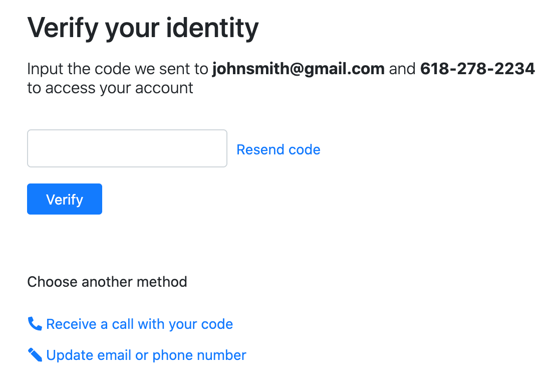 SimplyConvert identity verification