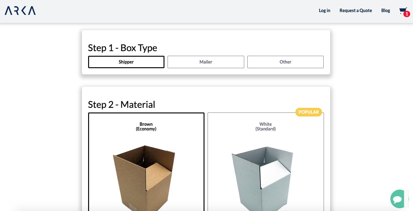 arka-custom-packaging-tool