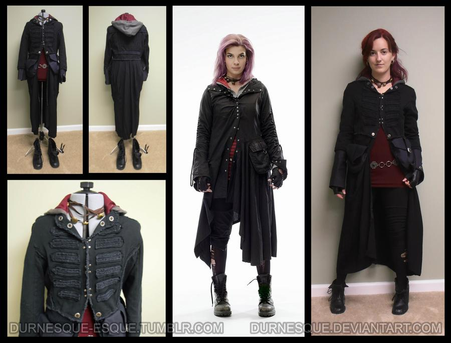 Tonks cosplay outfit