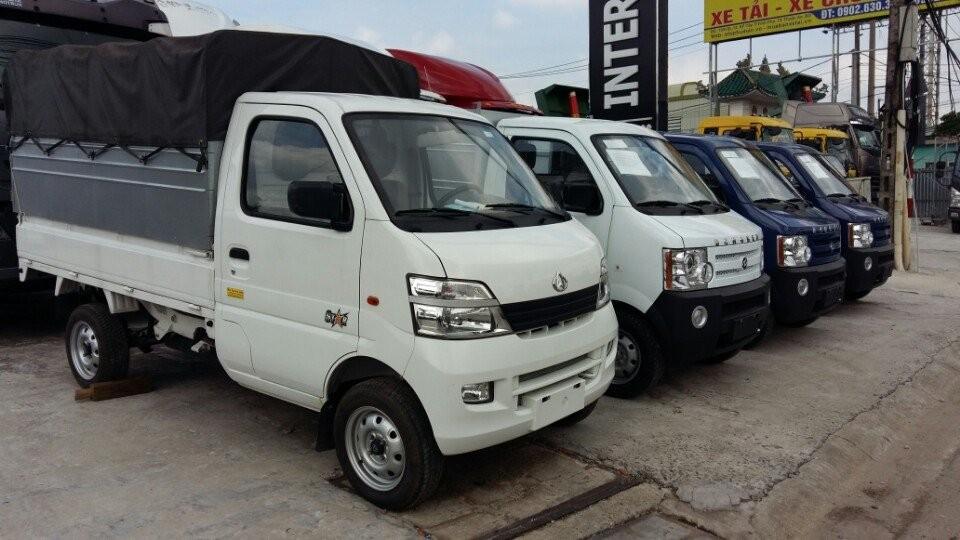 Đại lý bán xe tải nhỏ 800kg - Bán xe tải Veam 860kg thùng bạt giá cạnh tranh tại HCM
