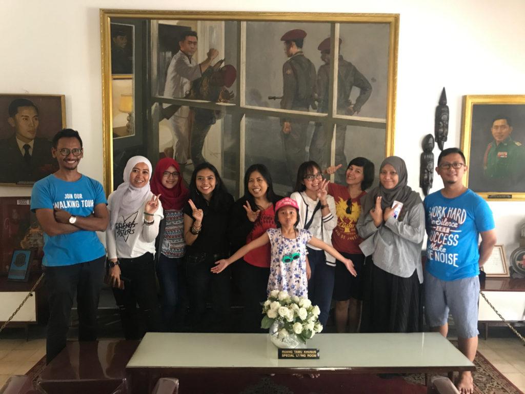 Jakarta Good Guide in museum
