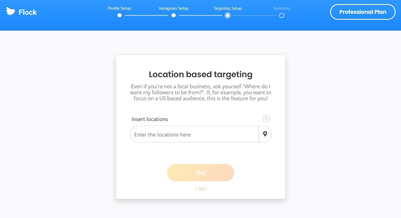 location based targeting instagram