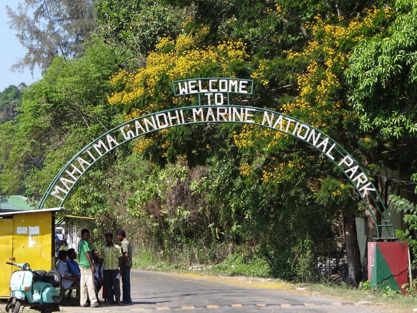 Mahatma Gandhi Marine National Park, Wandoor
