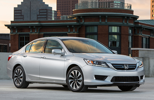 The 2014 Honda Accord dynamic design.