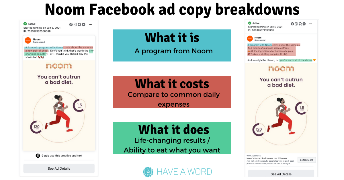Simple fb ad templates