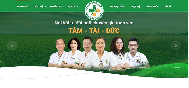 Viện Y dược dân tộc - Quy tụ đội ngũ, bác sĩ chuyên gia thế hệ vàng YHCT