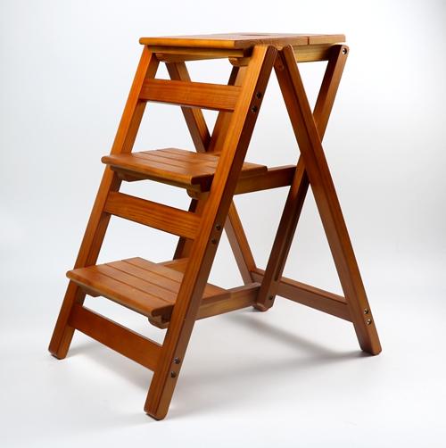Стул-стремянка (стул-лестница) из дерева