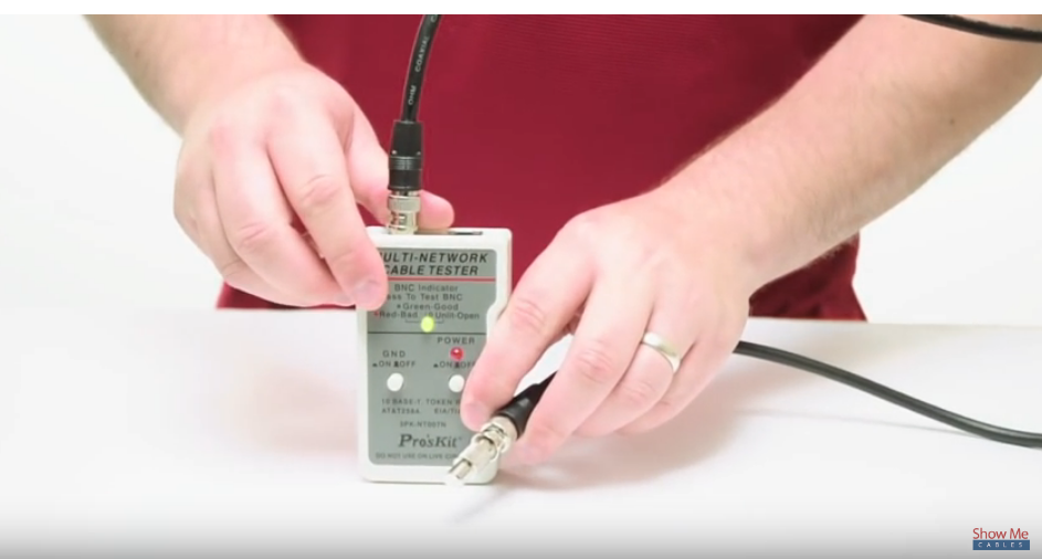 Coaxial Test Continuity Conductor Pull Test