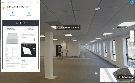 Exemple de viewer de jumeau numérique