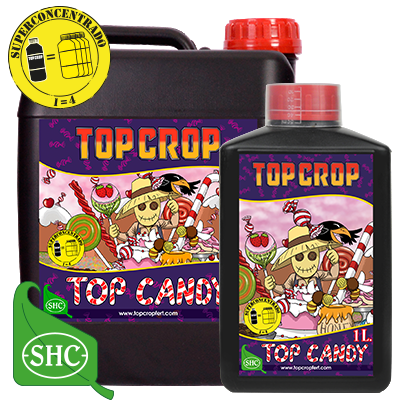 Top Candy Top Crop Fertilizante para Cultivo Indoor