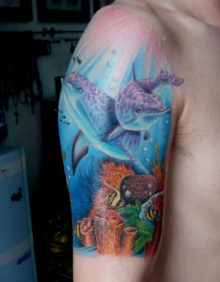 Marine Life Inspired Tattoos in Honor of National Ocean ...