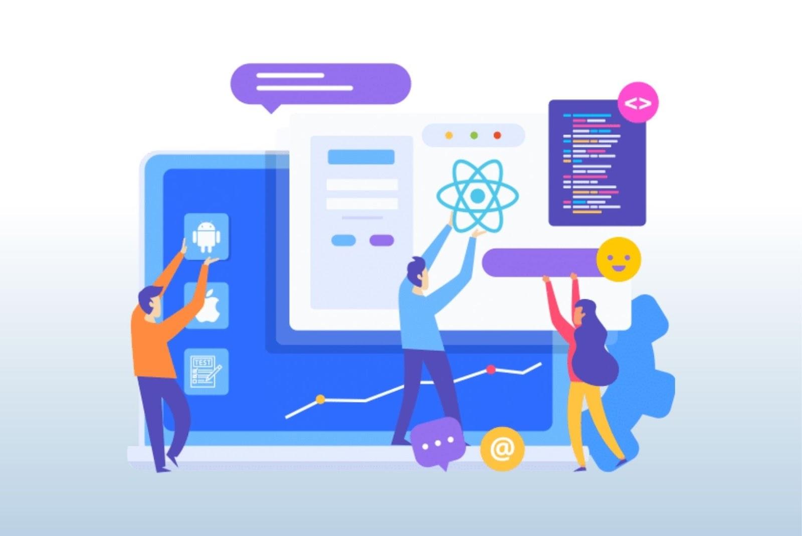 ReactJS for web app development