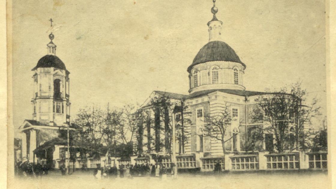 Церковь в Елисавете, в которой служил Кирилл Стеценко