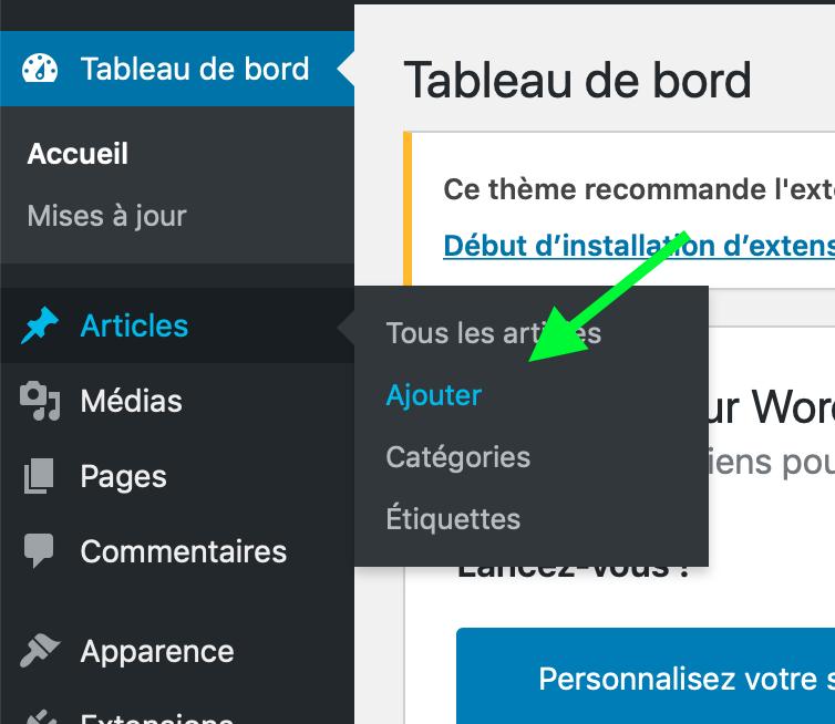 Wordpress-Article-ajouter