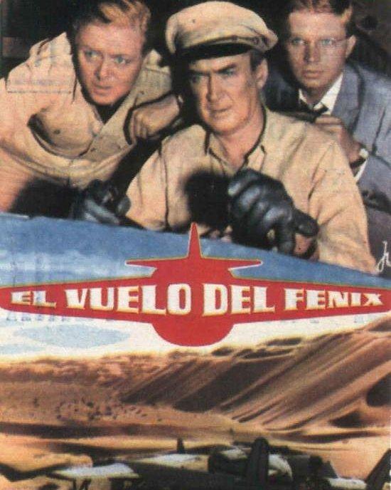 El vuelo del Fénix (1965, Robert Aldrich)