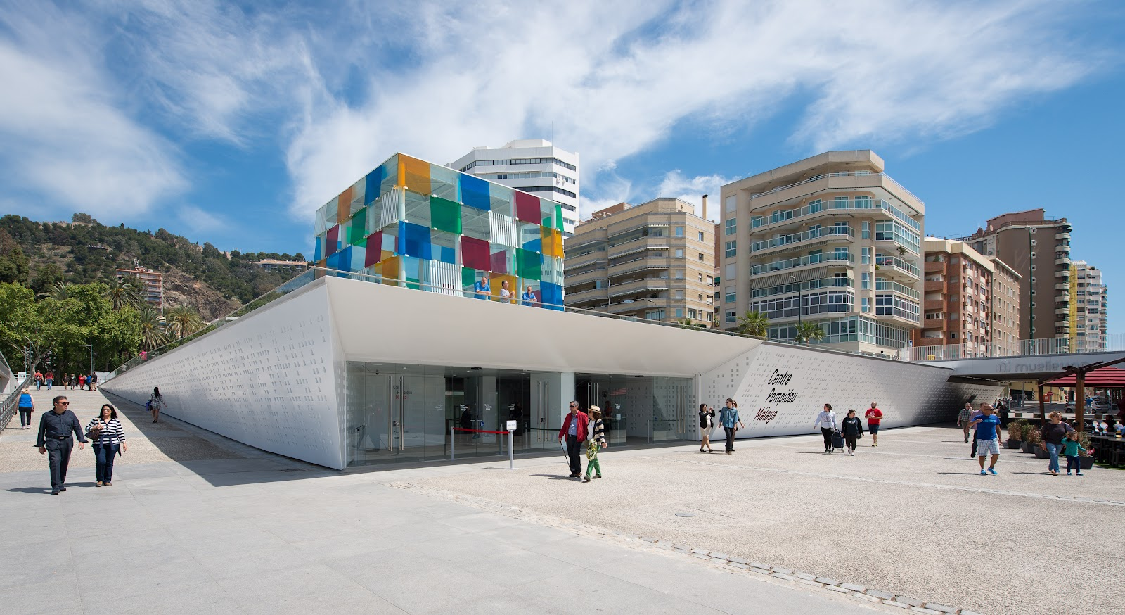 Muelle 1 centro comercial Málaga