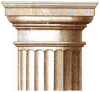 Resultado de imagem para coluna dorica