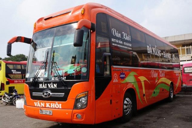 Xe Vân Khôi từ Hà Nội đi Đà Nẵng