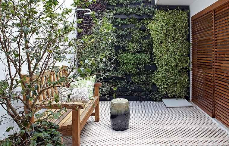 mur végétal extérieur atelier du store