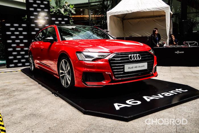 ราคา, ตารางผ่อน Audi A6 Avant 45 TFSI quattro S Line Black Edition 2020