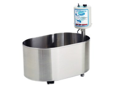 The Little Champ Hydrotherapy bath is the perfect small hydrotherapy tub for hands and feet.