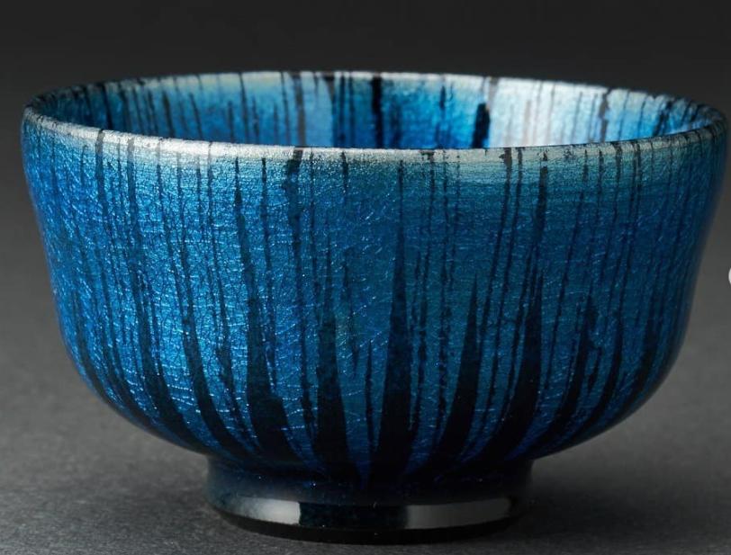 blue bowl ceramics