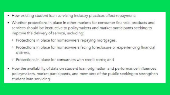 student loan service companies complaints