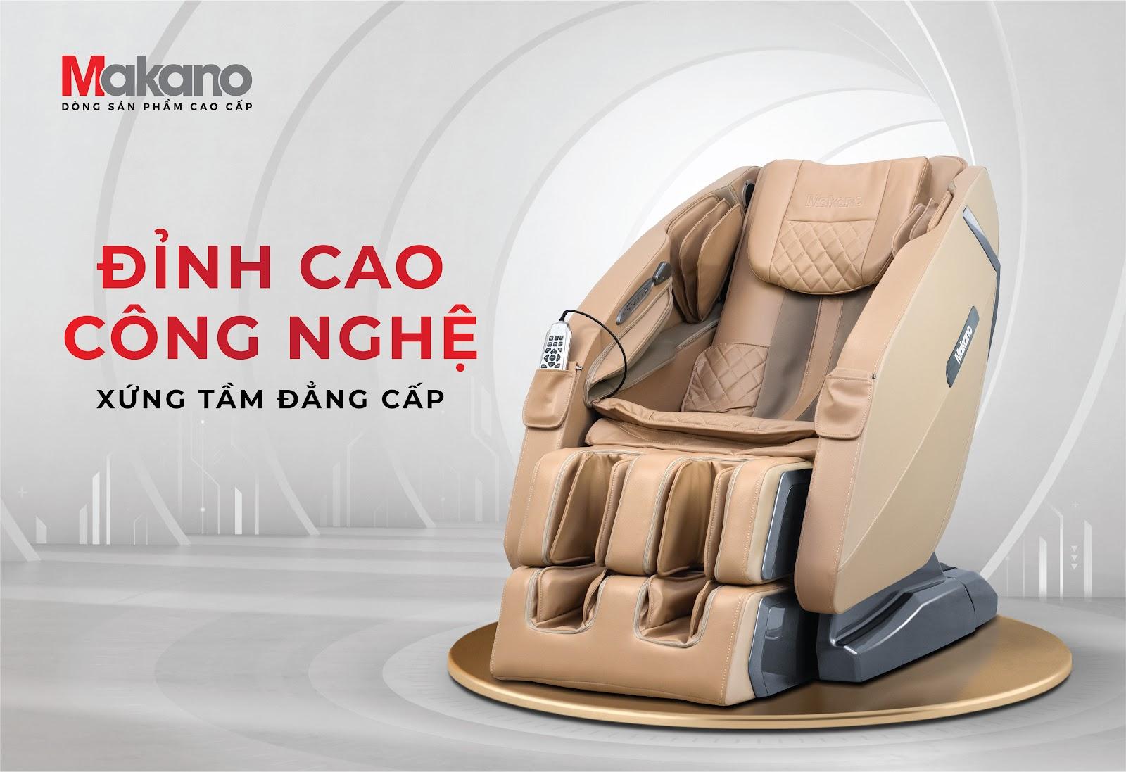 ghế massage Makano MKGM-20002