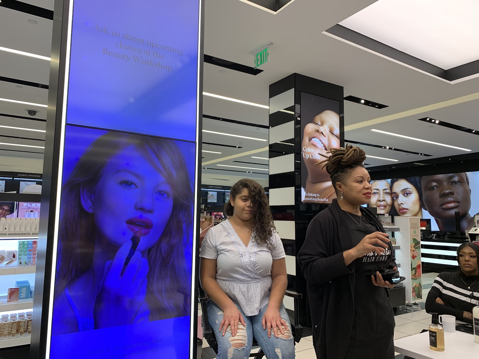 clean beauty products event