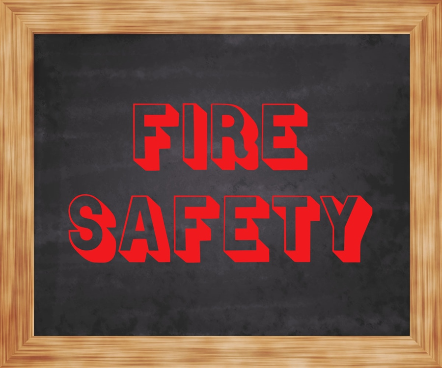 fire safety image