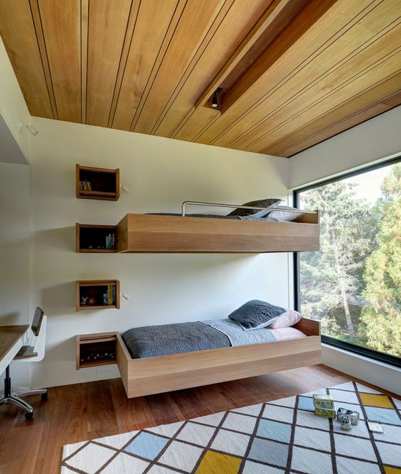 Bunk Bed with Staircase Custom