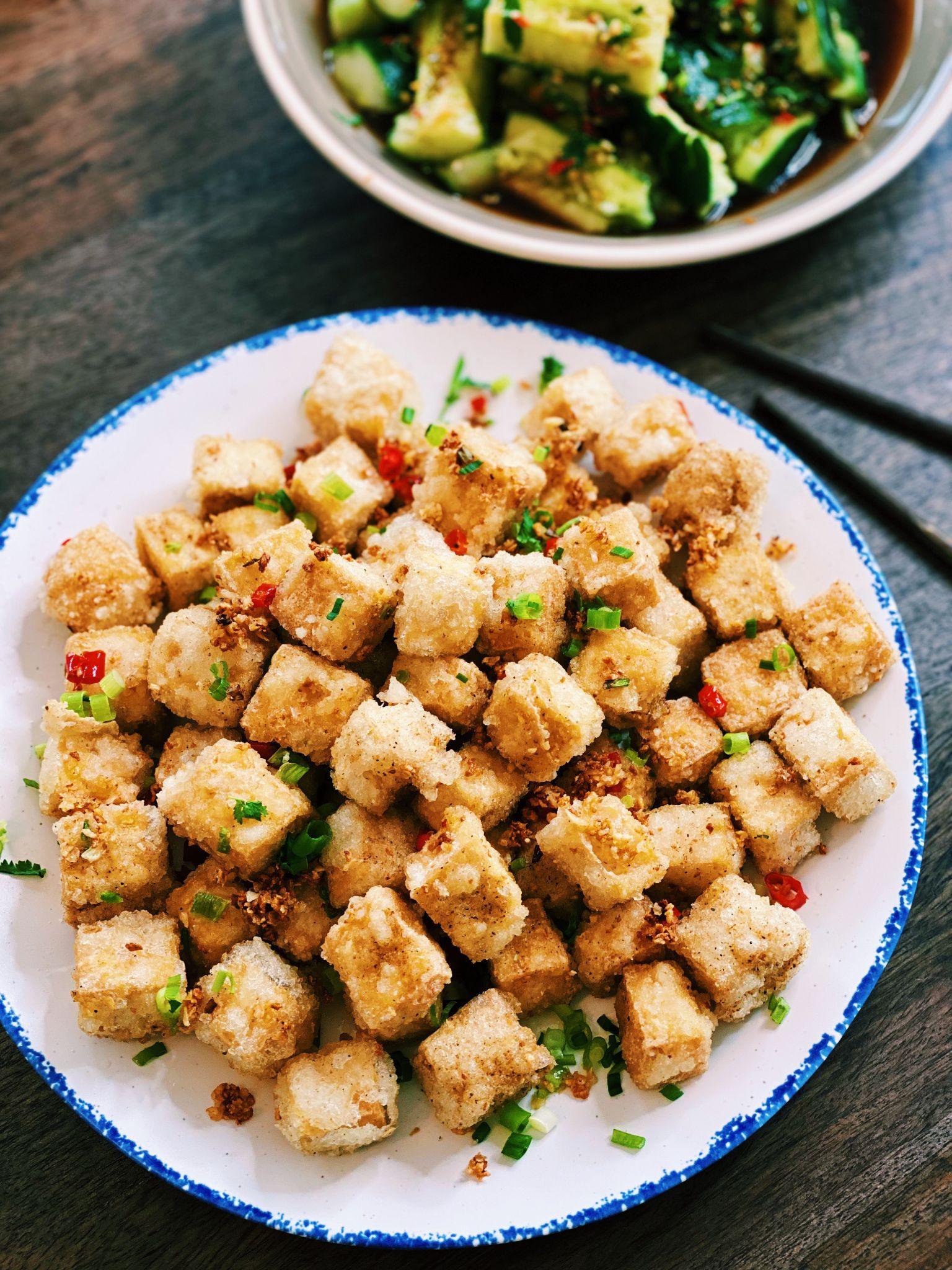 Salt and Pepper Tofu (EXTRA CRISPY!)