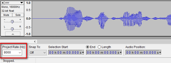 Converting a Wav file to 16 bit or MP3 or Stereo to Mono