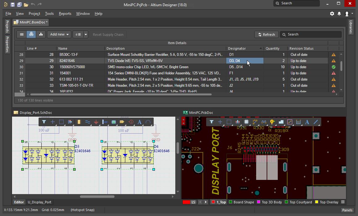 Altium Designer unified design
