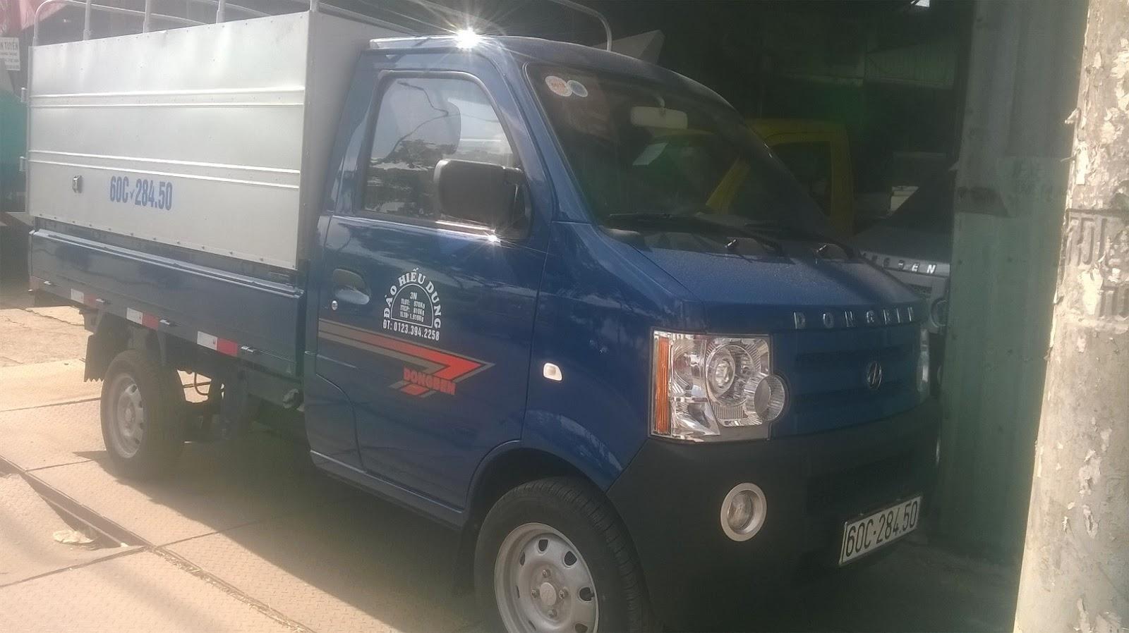 Bán xe tải SYM 880kg/ T880/ T1000 thùng bạt thùng kín giá rẻ giao ngay