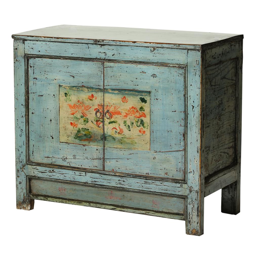 Shabby chic vintage cabinet from Gansu
