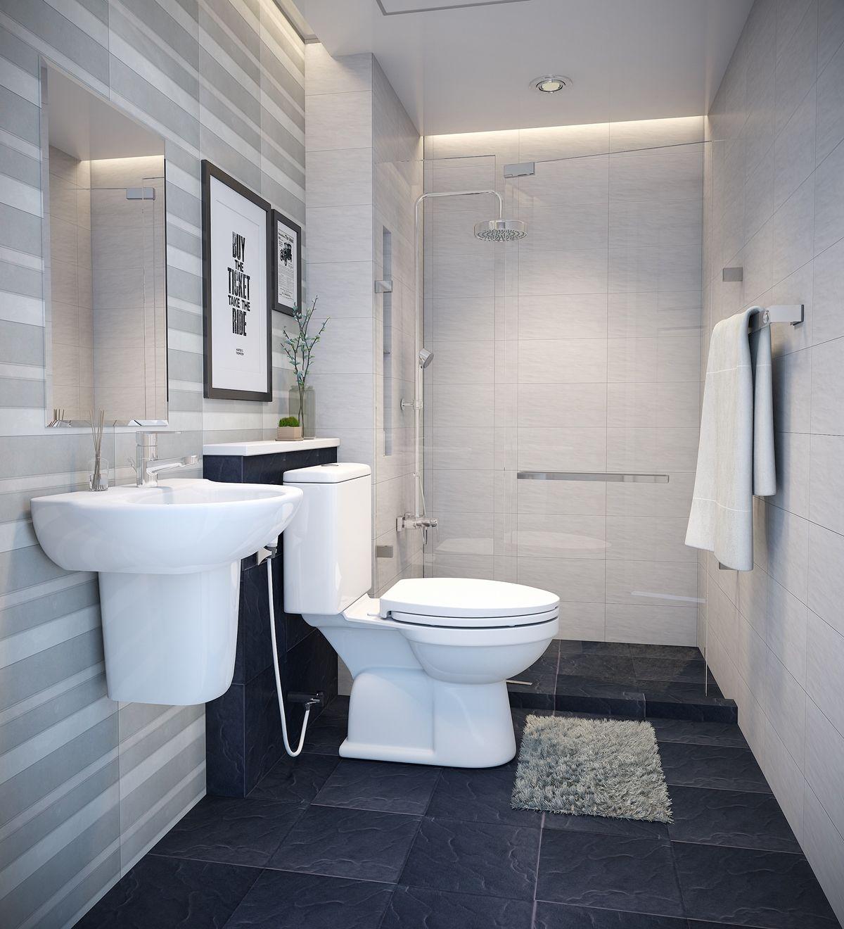 Thiết kế phòng tắm nhà cấp 4 đơn giản và tiện lợi